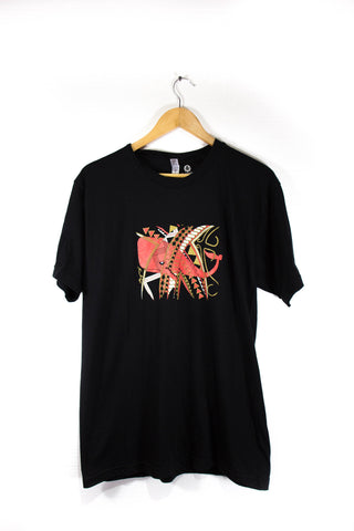 Red Whale Tribal Tee Shirt - Mens - Limited Edition