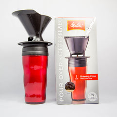 Melitta Travel Mug with a Pour Over Filter
