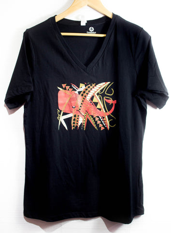 Red Whale Tribal Tee - Womens - Limited Edition