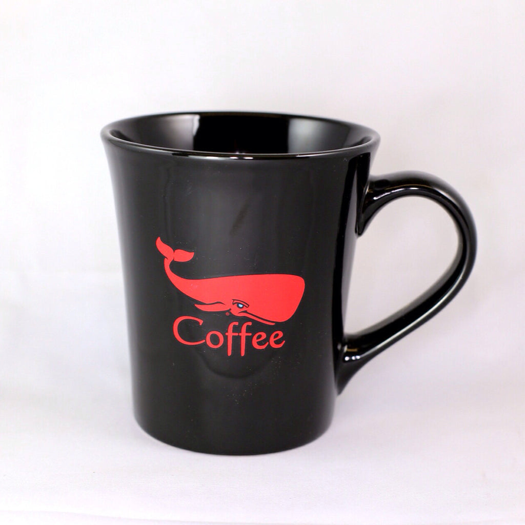 Red Whale Coffee Ceramic Mug 16oz