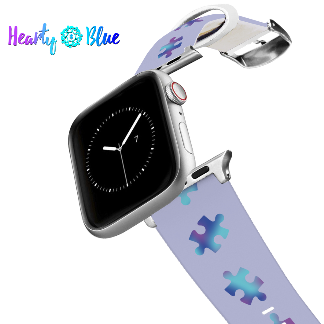Pieces For Peace - Silicone Apple Watch Band