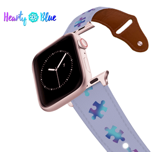 Pieces For Peace - Leather Apple Watch Band