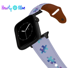 Load image into Gallery viewer, Pieces For Peace - Leather Apple Watch Band
