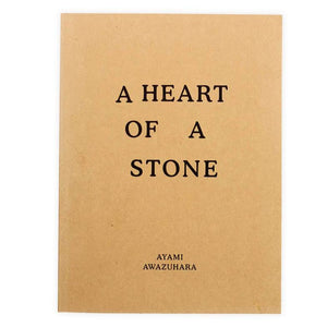 A Heart of a Stone by Ayami Awazuhara - Book at Kavi Gupta Editions