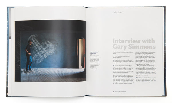 Gary Simmons - Book at Kavi Gupta Editions