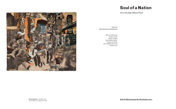 Soul of a Nation: Art in the Age of Black Power - Book at Kavi Gupta Editions