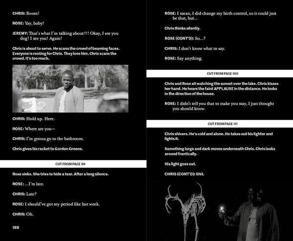 Get Out: The Complete Annotated Screenplay by Jordan Peele - Book at Kavi Gupta Editions