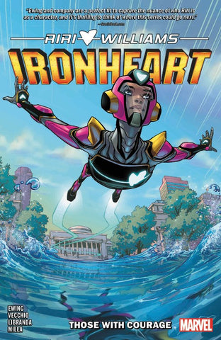 Ironheart Vol. 1: Those with Courage - Book at Kavi Gupta Editions