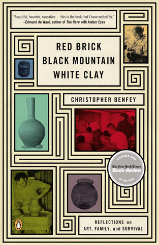 Red Brick, Black Mountain, White Clay: Reflections on Art, Family, and Survival by Christopher Benfey - Book at Kavi Gupta Editions