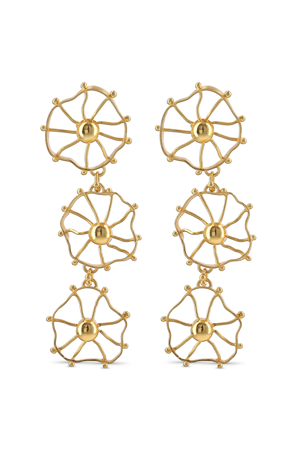 TRIPLE ZAPAC EARRINGS