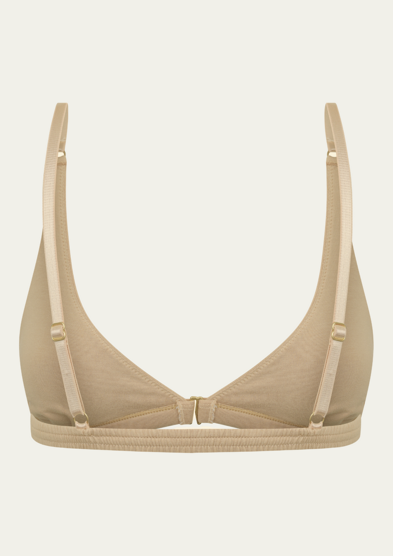 The Base bra - Bisque