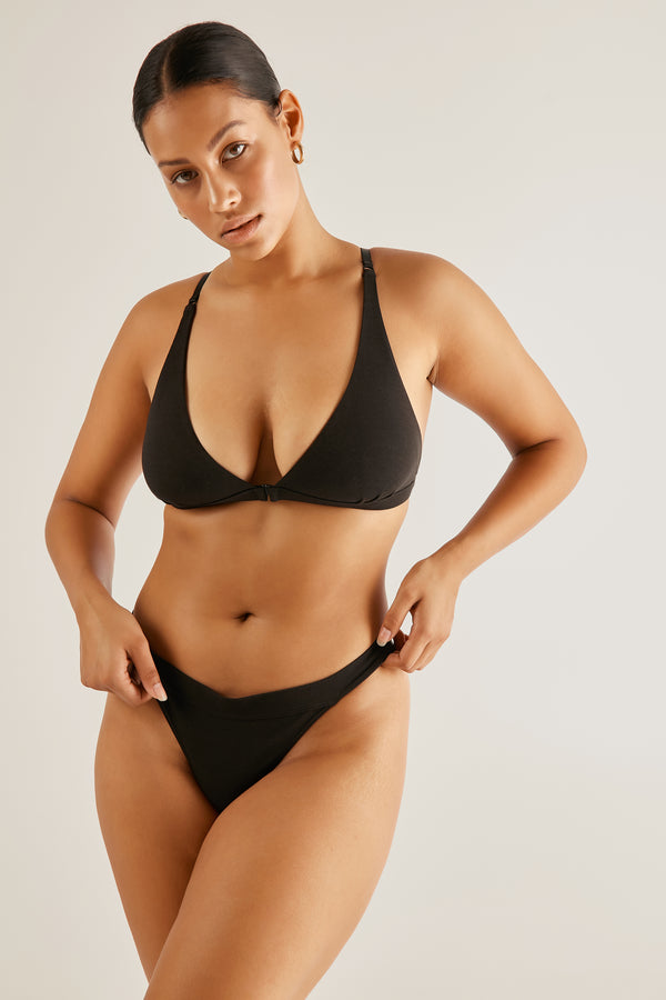 The Base bra - Black