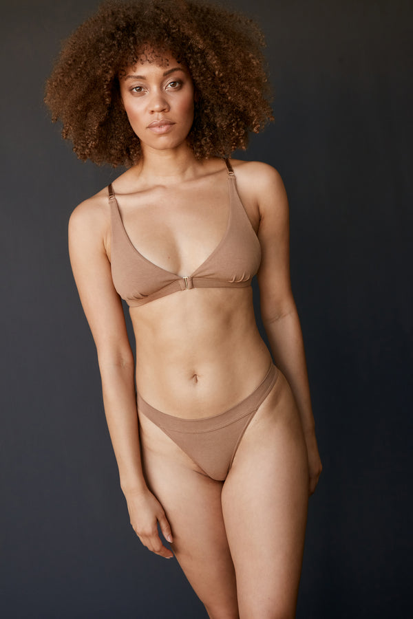 The Base bra - Bronze