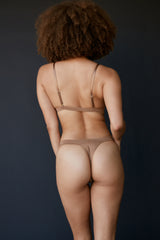 The Blur thong - Bronze