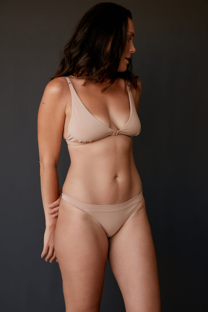 The Base bra - Clay