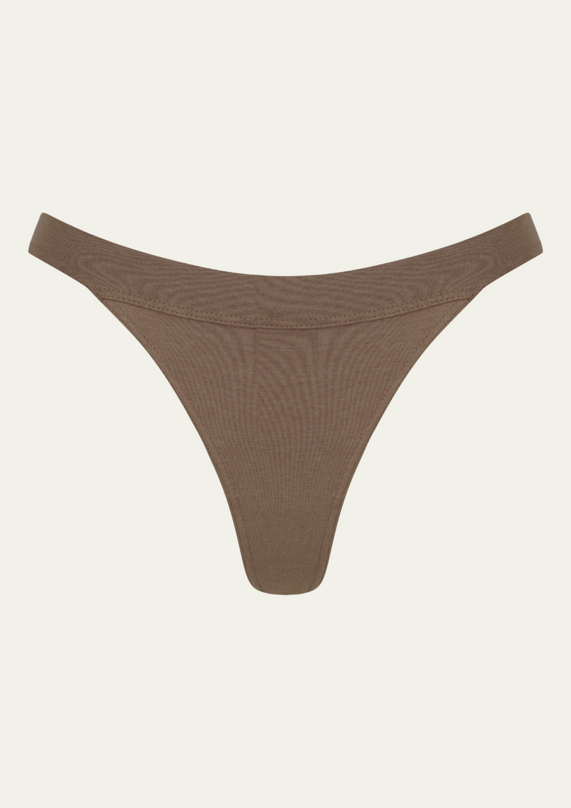 The Blur thong - Cacao
