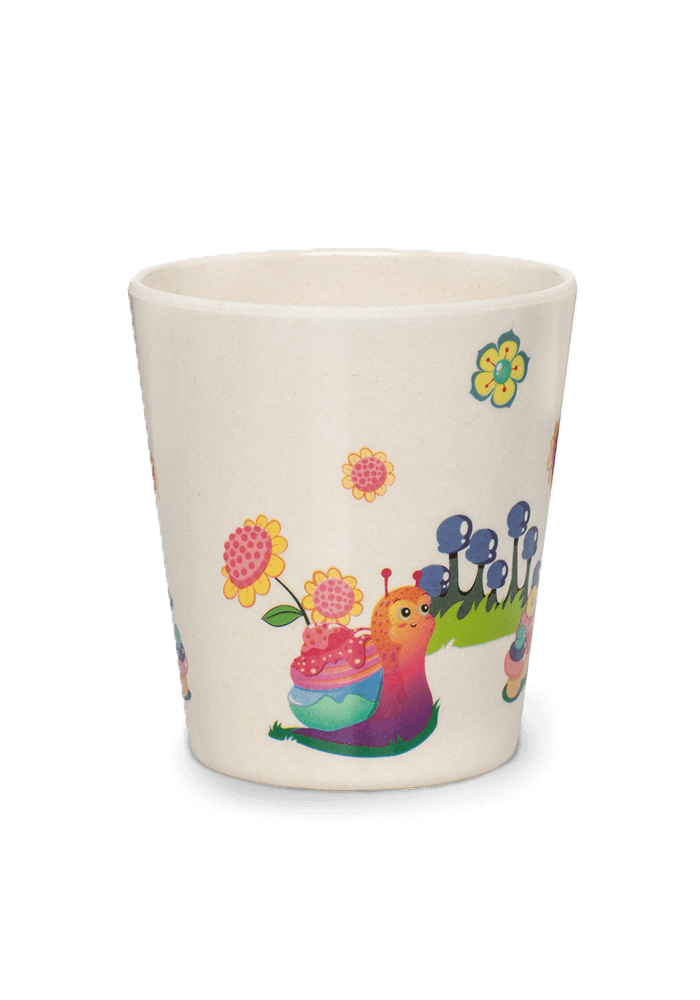 Bubble bamboo cup back