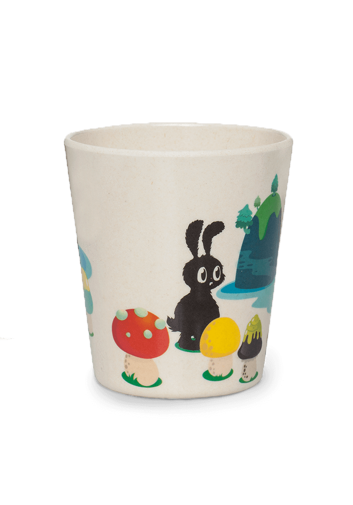 Fred Bamboo Cup back