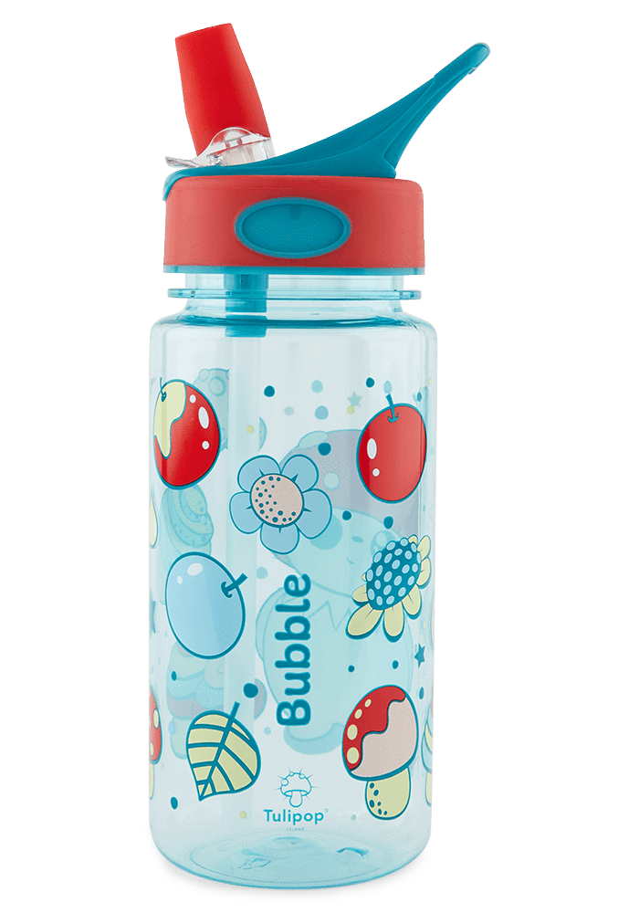 Bubble Water Bottle back