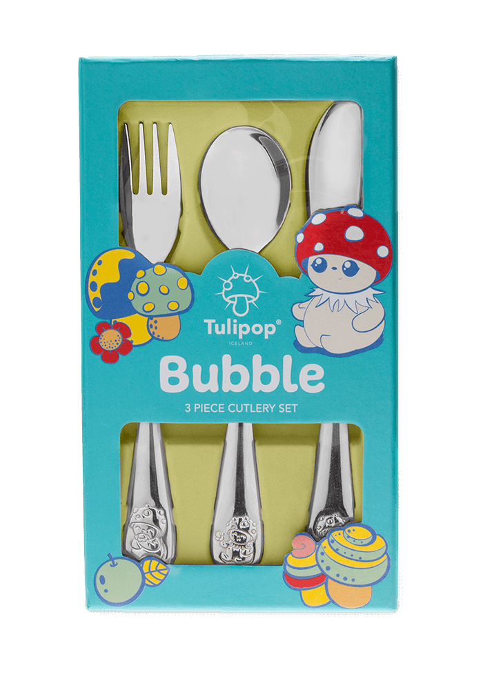 Bubble cutlery front