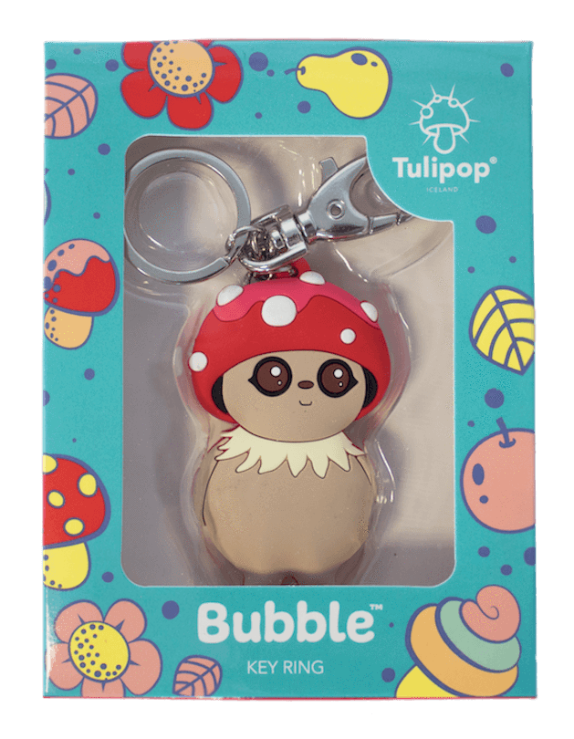 Bubble Key Ring front