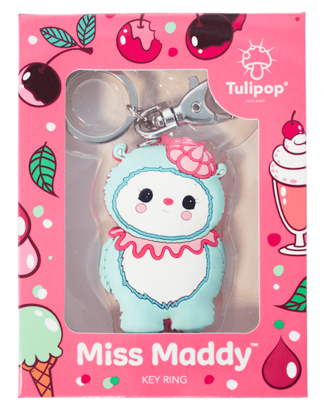 Miss Maddy Key Ring