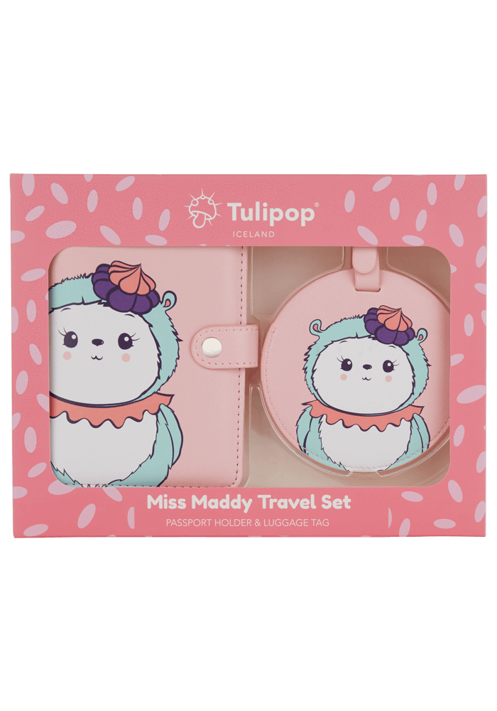 Miss Maddy Travel Set front
