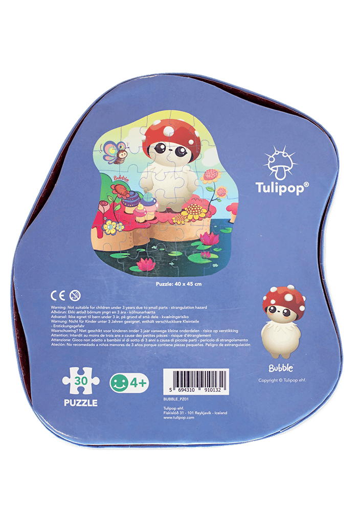 Bubble Jigsaw Puzzle back