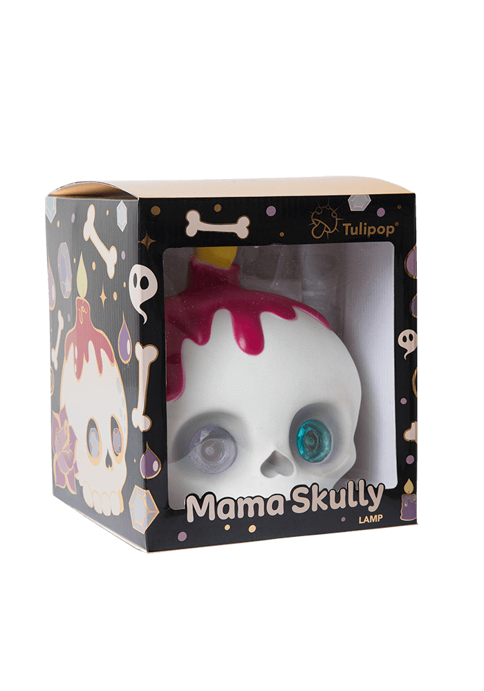 Mama Skully Led Lamp box