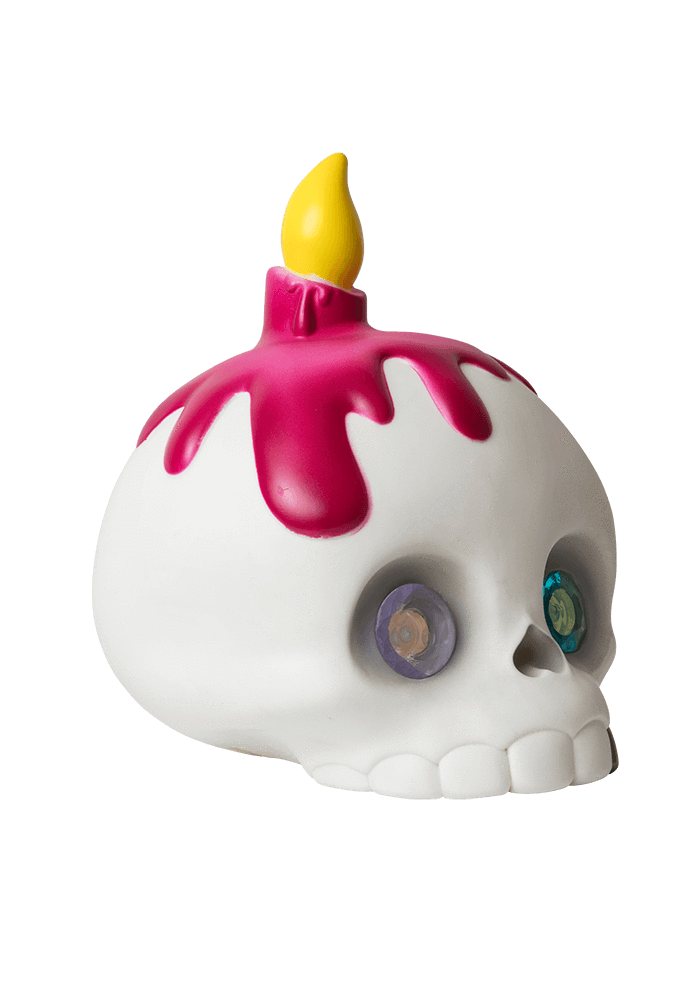 Mama Skully Led Lamp