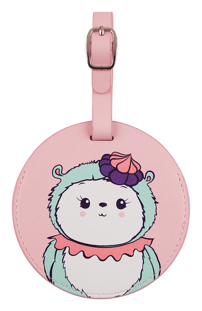 Miss Maddy Luggage Tag front