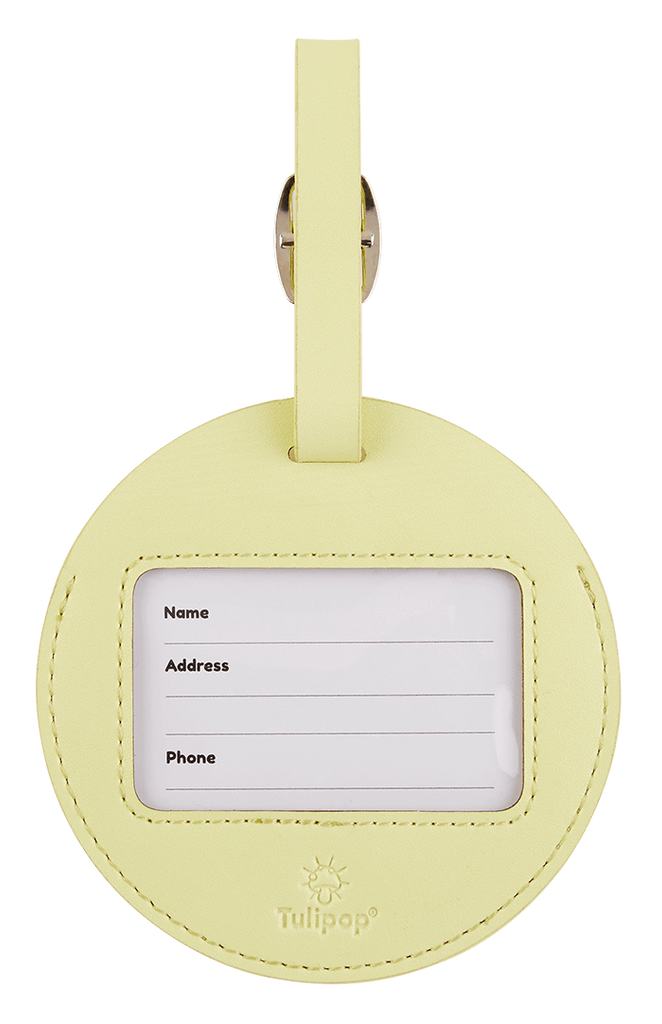 Gloomy Luggage Tag back