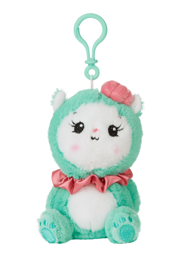 Maddy Mini Plush Clip-On front