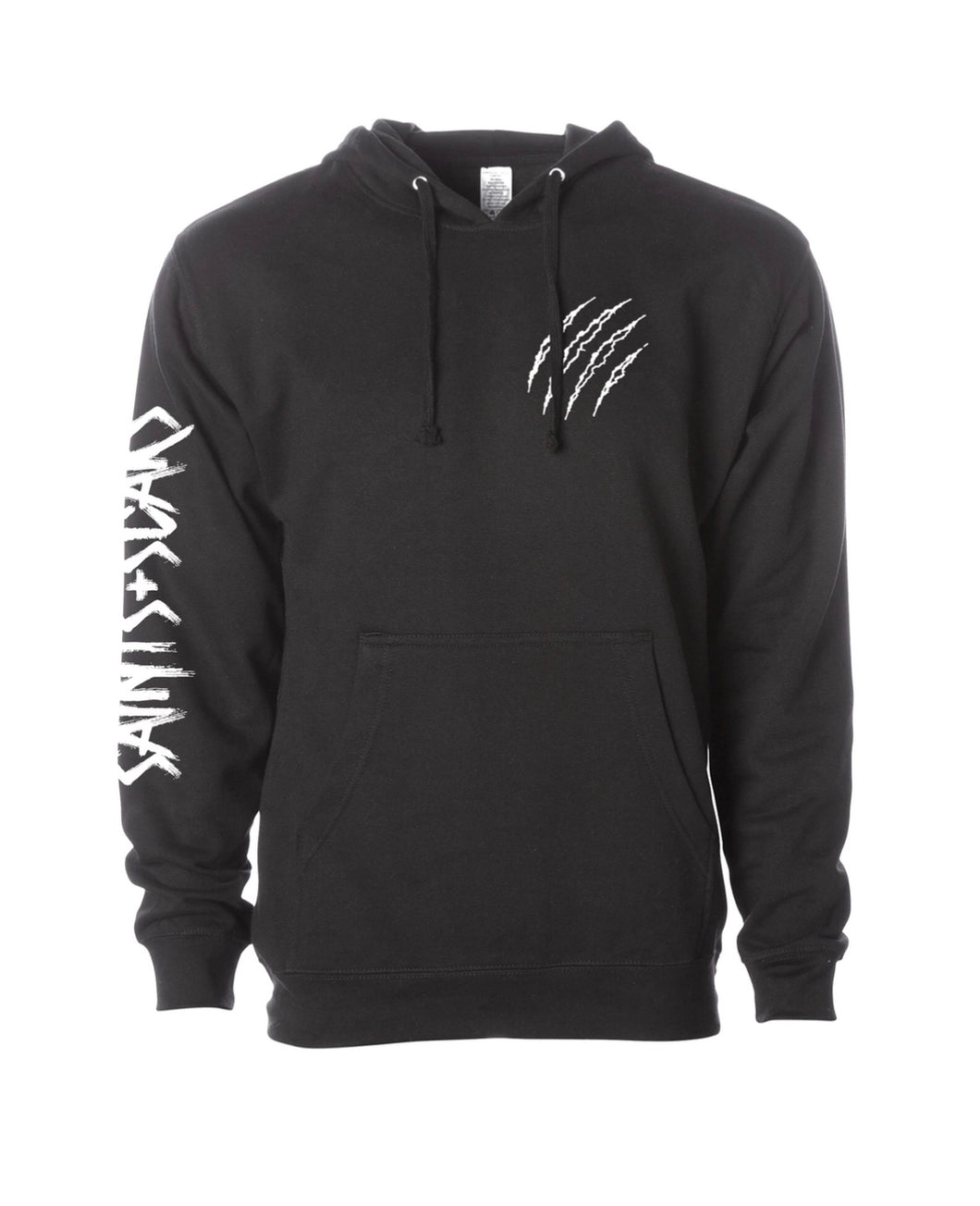 Saints + Scars Embroider Hoodie