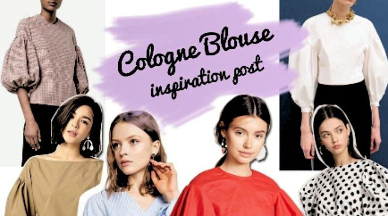 Inspiration for Cologne blouse