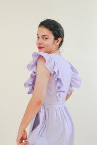 FLOR DRESS & CROPPED TOP - PDF SEWING PATTERN - Bella loves patterns