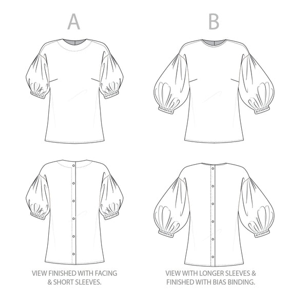 COLOGNE BLOUSE – PDF SEWING PATTERN