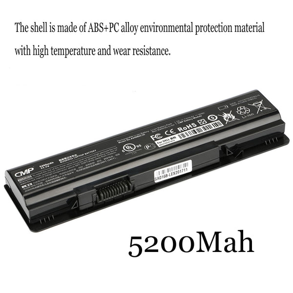 1PC New Laptop Battery Internal For Dell Vostro 1088 1014 PP38L A860 A840 1410 1015 P286H F287H G069H