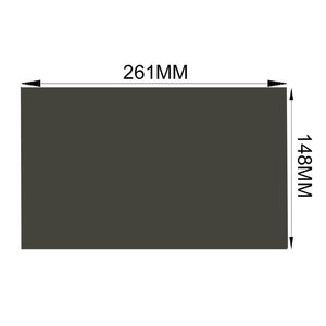 "Free Shipping!!! 10pcs/Lot New 12.1"" Wide 45 degree Matte/Glossy 261M*148MM LCD Polarizer Polarizing Film for tft Laptop"