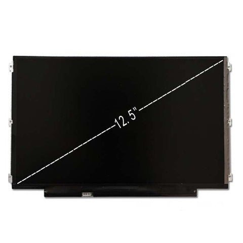 "Grade A+ HB125WX1-100 B125XTN02.0 12.5"" 30Pin EDP LED LCD Matrix Screen For Dell E7240 HP 820"