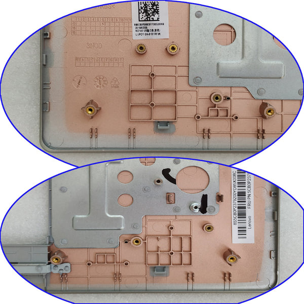 Free Shipping!!! Original 95%New Replacement Laptop Housing C For Lenovo 120s-14IAP ideapad 120S-14 120S-14IAP 120S-14IKB