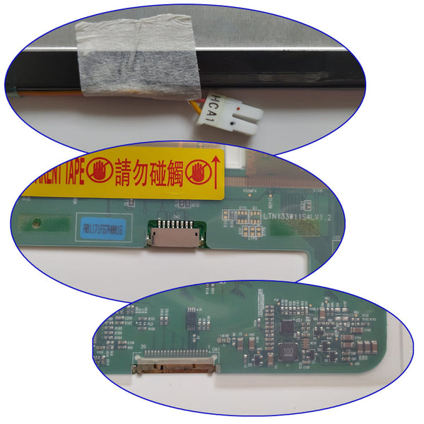 Grade A+ N133I7-L01LP133WX1 B133EW01 LTN133AT01 LTN13AT07 N133I1-L01 LTN133W1-L01 Laptop Screen Replacement For Lenovo F31 Y330