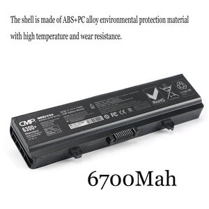 1PC New Laptop Battery Internal For Dell inspiron 1440 K450N 1545 PP42L 1525 HP287