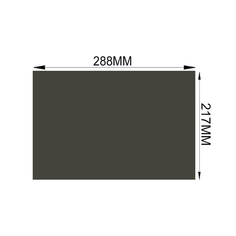Free Shipping!!! 10PCS/Lot New 14inch 45 degree 4:3 Wholesale Film Polarized Sheet TFT Polarizing Film Sheets