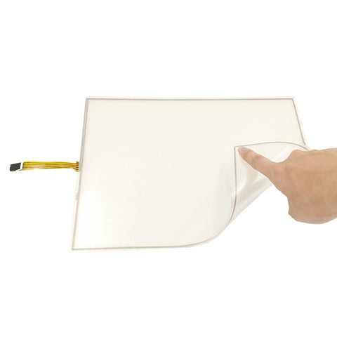 Free Shipping!!! 1PC 15inch 0.5MM 4:3 Film to Film Resistive Touch Screen 322MM*247MM Digitizer +Controller