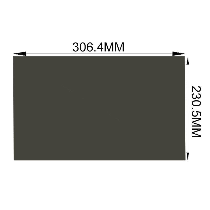 "Free Shipping!!New 15"" 4:3 135 degree 310MM*232MM Glossy Surface Polarizer film For Laptop LCD LED Screen Panel Polarizing Film"