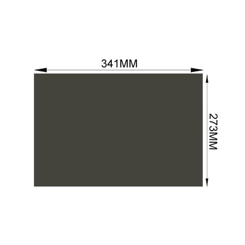 "10PCS/Lot New 17"" 4:3 0 degree LCD LED Screen Film Polarizer Sheets Promotion"