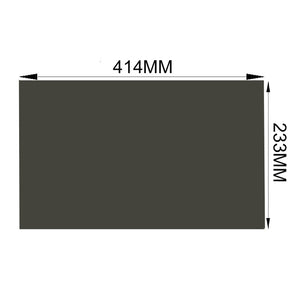 "Free Shipping!!!10PCS/Lot Wholesale New 18.5"" 45 degree Matte/Glossy 414MM*233MM LCD Film Polarizer for tft LCD LED Screen"