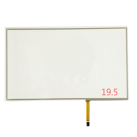 "Free Shipping!!!New 19.5"" 452MM*263MM 4 Wire 16:9 Resistive Touch Screen Panel Digitizer Film to Glass+Controller"