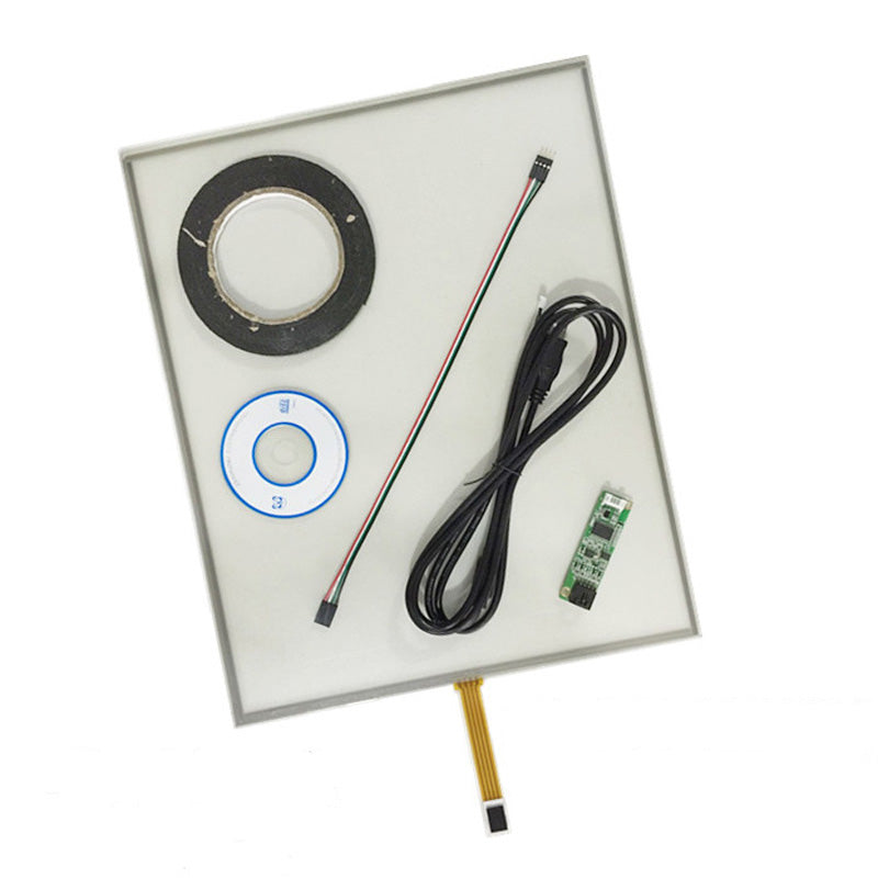 Free Shipping!!! 1PC 19inch 4Wire 4:3 Glass Resistive Touch Screen 396MM*323MM Digitizer+Controller
